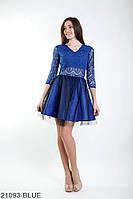 Жіноче плаття Подіум Bella 21093-BLUE XS Синій