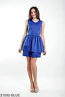 Жіноче плаття Подіум Kiara 21092-BLUE XS Синій