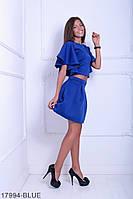 Жіночий костюм Подіум Lilian 17994-BLUE M Синій