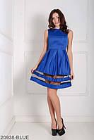 Жіноче плаття Подіум Tina 20938-BLUE XS Синій