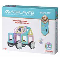 Конструктор Magplayer магнитный набор 28 эл (MPH2-28)