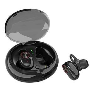 Беспроводные наушники SUNROZ V5 TWS Bluetooth наушники вкладыши Черный