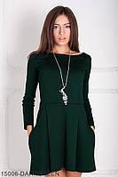 Жіноче плаття Подіум Alay 15006-DARKGREEN S Зелений