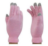 Перчатки для сенсорных экранов HI-RALI iGlove  pink