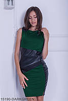 Жіноче плаття Подіум Nerine 15190-DARKGREEN S Зелений