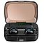 Беспроводные Hi-Fi Bluetooth 5.0 наушники M11 TWS чёрного цвета с зарядным кейсом на 3300 мА/ч (7119, фото 3