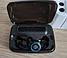 Беспроводные Hi-Fi Bluetooth 5.0 наушники M11 TWS чёрного цвета с зарядным кейсом на 3300 мА/ч (7119, фото 4