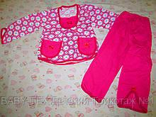 Піжама Дві кишені для дівчаток кулір
