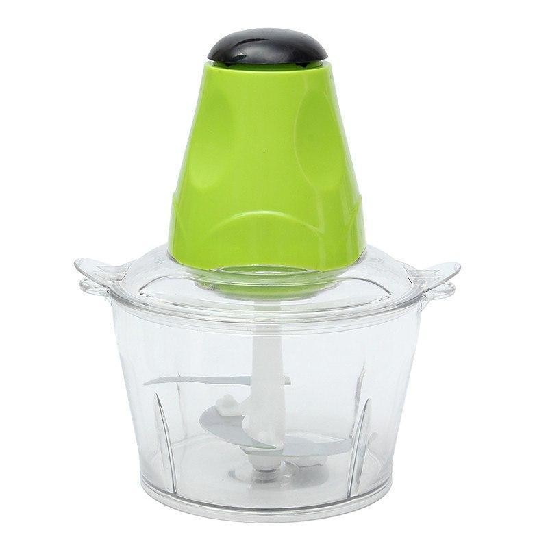Електричний кухонний подрібнювач продуктів SUNROZ Electric Cooking Machine чоппер Зелений (3398)