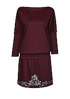 Платье-мышь ВИНТАЖ,французский трикотаж,размеры 46-64.