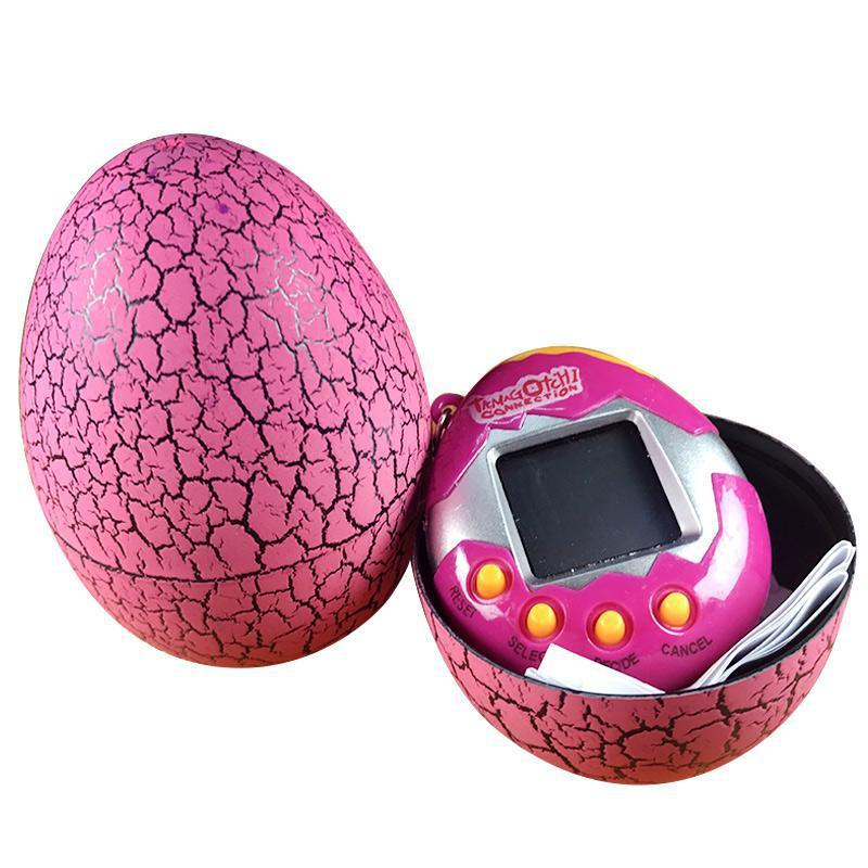 Электронная игра Tamagotchi Тамагочи Виртуальный питомец в яйце Розовый
