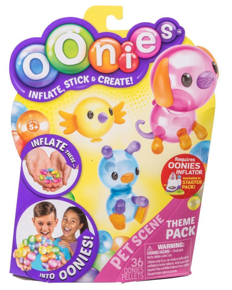 Тематичний набір аксесуарів OONIES Pet Scene для дитячої творчості