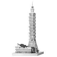 """Металлическая сборная 3D модель """"Небоскреб Тайбэй 101"""", Metal Earth (ICX007)"""