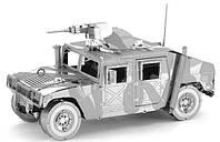 """Металлическая сборная 3D модель """"Вездеход Humvee"""", Metal Earth (ICX008)"""