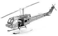 """Металлическая сборная 3D модель """"Вертолет Huey"""", Metal Earth (MMS011)"""