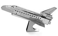"""Металлическая сборная 3D модель """"Космический шаттл Endeavor"""", Metal Earth (MMS015E)"""