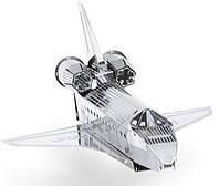 """Металлическая сборная 3D модель """"Прототип шаттла Enterprise"""", Metal Earth (MMS015I)"""