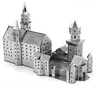 "Металлическая сборная 3D модель ""Neuschwanstein Castle"" (Замок Нойшванштайн), Metal Earth (MMS018)"