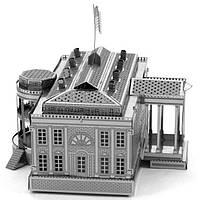 """Металлическая сборная 3D модель """"Белый дом"""", Metal Earth (MMS032)"""