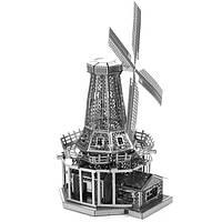 """Металлическая сборная 3D модель """"Ветряная мельница"""", Metal Earth (MMS038)"""