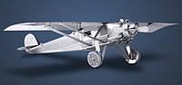 """Металлическая сборная 3D модель """"Самолет Spirit of Saint Louis"""", Metal Earth (MMS043)"""