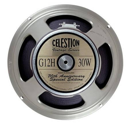 "Гітарний динамік 12"" для електрогітар CELESTION G12H Anniversary, фото 2"