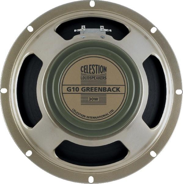 """Гитарный динамик 10"""" для электрогитар CELESTION G10 GREENBACK"""