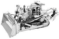 Металлическая сборная 3D модель CAT Dozer (Бульдозер CAT), Metal Earth (MMS425)