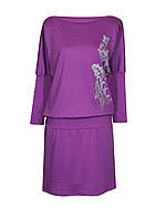 Платье-мышь ЛОЗА,французский трикотаж,размеры 46-64.