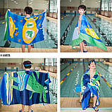 Махровое детское пляжное полотенце для мальчика, покрывало, подстилка, плед коврик, фото 9