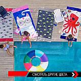 Махровое детское пляжное полотенце для мальчика, покрывало, подстилка, плед коврик, фото 8