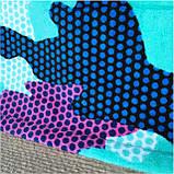 Махровое детское пляжное полотенце для мальчика, покрывало, подстилка, плед коврик, фото 4