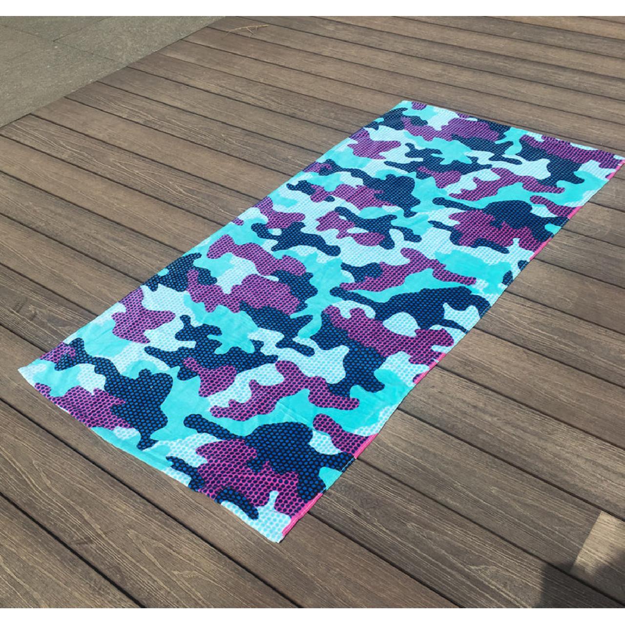 Махровое детское пляжное полотенце для мальчика, покрывало, подстилка, плед коврик