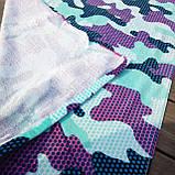 Махровое детское пляжное полотенце для мальчика, покрывало, подстилка, плед коврик, фото 6