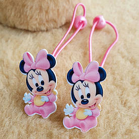 Набор резинок Minnie Mouse для девочки, 2 штуки