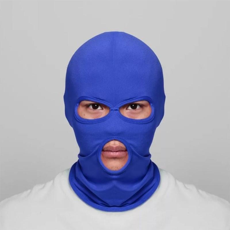 Балаклава маска (Бандитка) Синяя 1, Унисекс