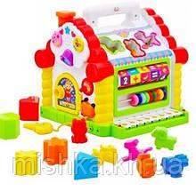"""Дитяча розвиваюча іграшка для малят """"Теремок"""" 9196"""