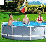 """Каркасный бассейн 26702 """"Intex"""" фильтр-насос,305-76 см, фото 4"""