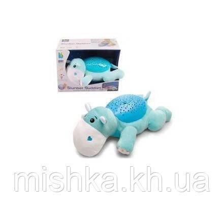 Дитячий плюшевий нічник-проектор JLD