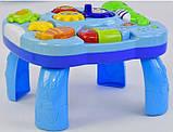 Дитячий розвиваючий музичний центр 3в1 для малюків, фото 4