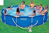 Каркасный бассейн Интекс, фильтр - насос, 3,66-76см, фото 2