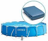 Каркасный бассейн Интекс, фильтр - насос, 3,66-76см, фото 4