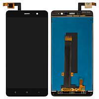 Дисплей для Xiaomi Redmi Note 3i Pro SE, черный, с сенсорным экраном, 149.5*73 mm