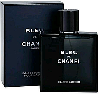 Духи с обалденным шлейфом мужские с фужерно-древесным ароматом, реплика Chanel Bleu de Chanel Европа