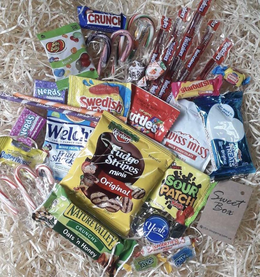 Коробка сладостей из США на подарок Sweet Box