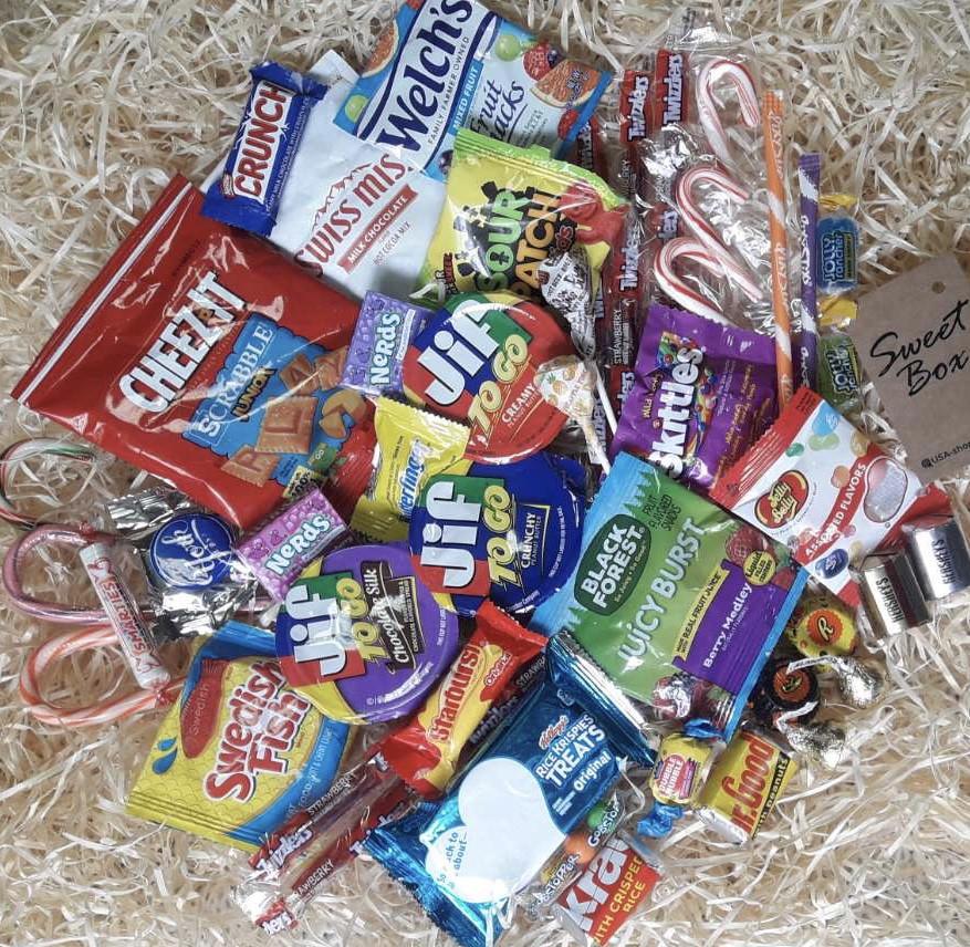 Коробка американских сладостей Sweet Box