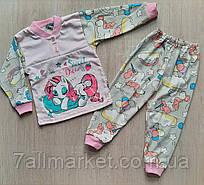 """Пижама детская  с принтом на девочку размеры 26-34 MARI"""" купить недорого от прямого поставщика"""