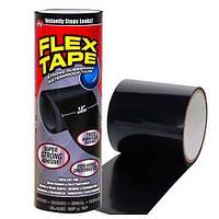 Прорезиненная водонепроницаемая клейкая лента As Seen On TV Flex Tape 30 см Black