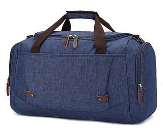 Дорожная сумка текстильная Vintage 20075 Синяя