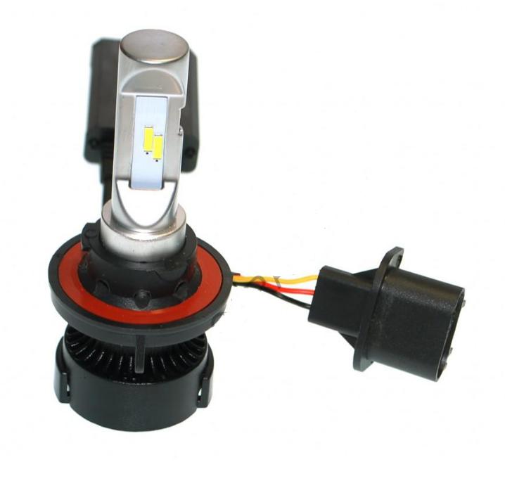 Лампы светодиодные ALed R H13 6000K 30W RH13Y08 (2шт)